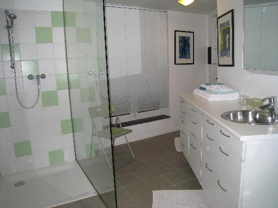 Absoluut Verhulst: Bathroom with large shower