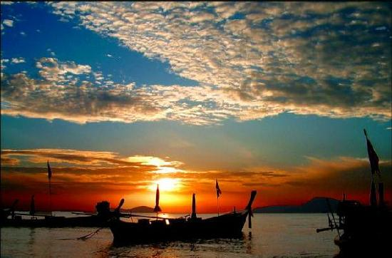Ko Samui, Thailand: Coucher de soleil