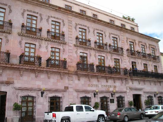 Hotel Emporio Zacatecas: Frontansicht