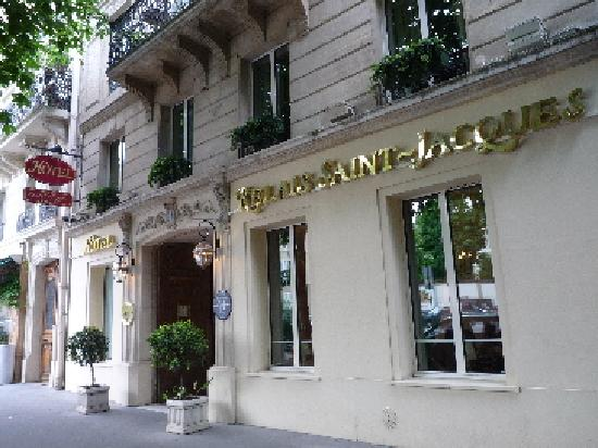 Relais Saint-Jacques: ホテル外観
