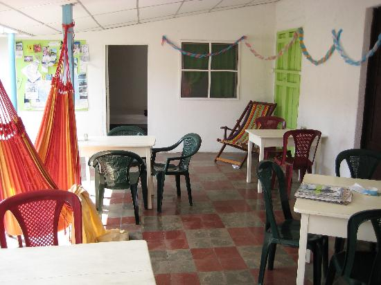 Luna International Hostel: Hostel area