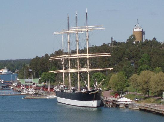 Mariehamn, Finnland: Pommern