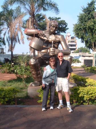 Posadas, Argentina: Monumento al matero