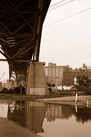 Cleveland, OH: Under the Bridge