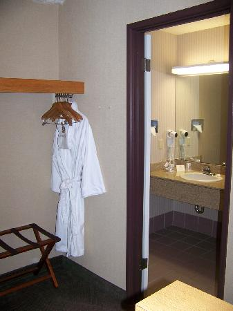 Best Western Green Bay Inn Conference Center: They Even Included a Robe.....