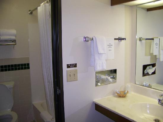 AmericInn Lodge & Suites Sturgeon Bay: Vanity Outside of Bathroom....