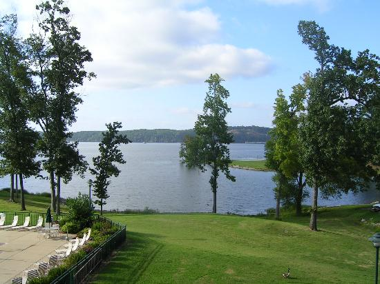 Inn at Pickwick Landing: View from room