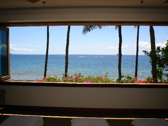 Spa Moana : View from Lounging Area