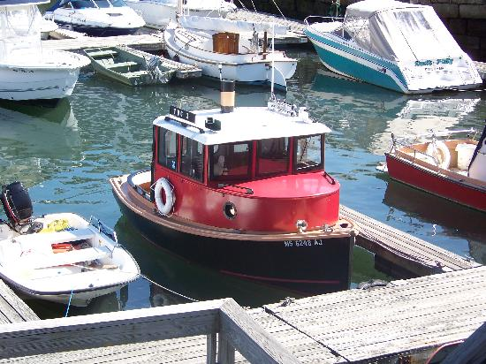 Essex Pizza: the little tug boat