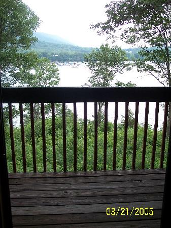 Lake Raystown Resort, an RVC Outdoor Destination: balcony