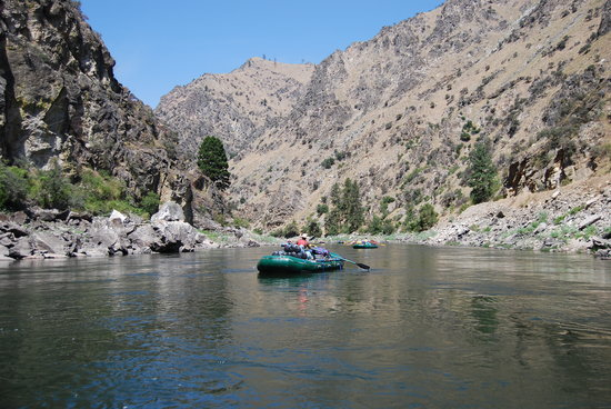 Idaho: Quiet water Middle Fork Salmon River