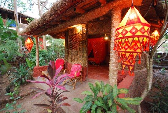 Casa Tres Amigos: Eines der Bamboo Cottages wo ich gewohnt habe
