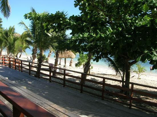 Mana Island Resort: Restaurant / buffet area
