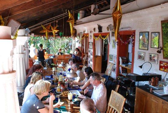 Casa Tres Amigos: Auf der Frühstücks Terrasse