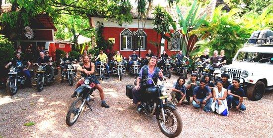 Hier startet eine Biker Tour vom CASA TRES AMIGOS