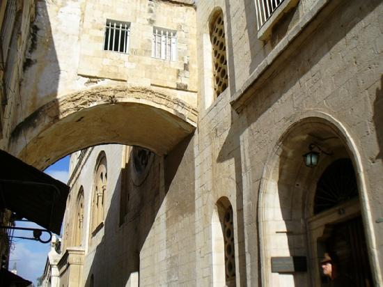 Jerusalem, Israel: Famous Ecce Homo Arch