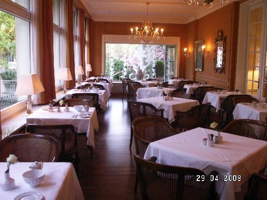 Atlantic Parkhotel : The breakfast room