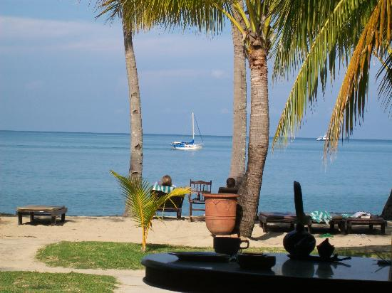 Sunset Beach Resort: View From Breakfast Table
