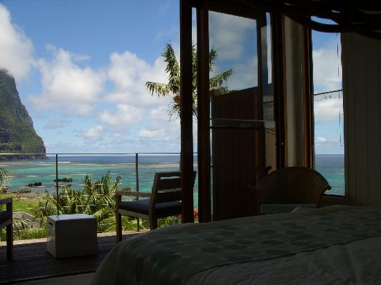 Capella Lodge: View from Bed