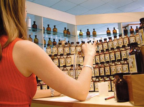 Studio des Fragrances Galimard : Orgue à parfums