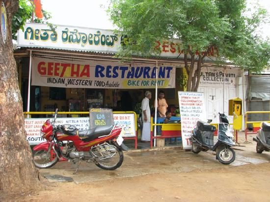 Sudha Guest House: Bikes are available on hire