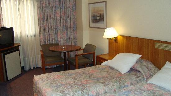 Balmoral Plaza Hotel: Habitacion del hotel.