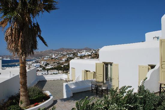 Pelican Hotel: Terrace