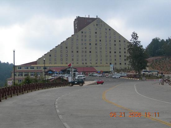 Kartepe, Turquia: Exterior of hotel