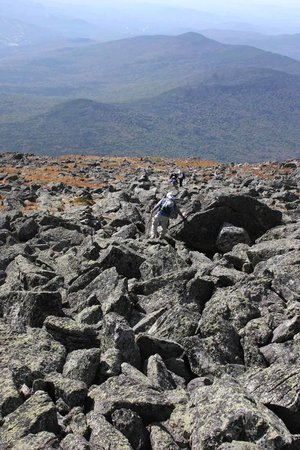 Jefferson, Nueva Hampshire: Lots of jagged rocks