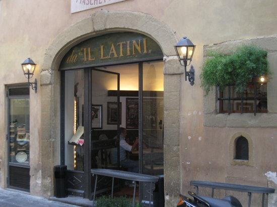 Restaurante Il Latini: Il Latini - inside