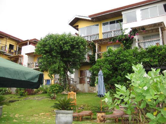 Amarela Resort: Amarela from the backyard