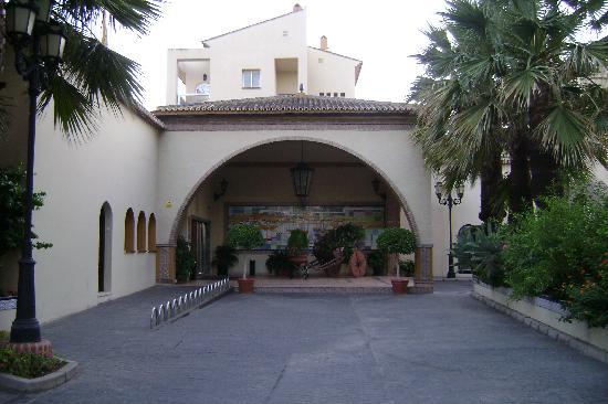 Hotel Pueblo Camino Real : Entrée de l'Hotel
