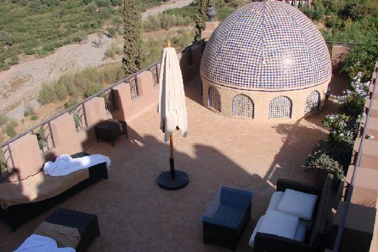 Kasbah Tamadot : Terrace room 33