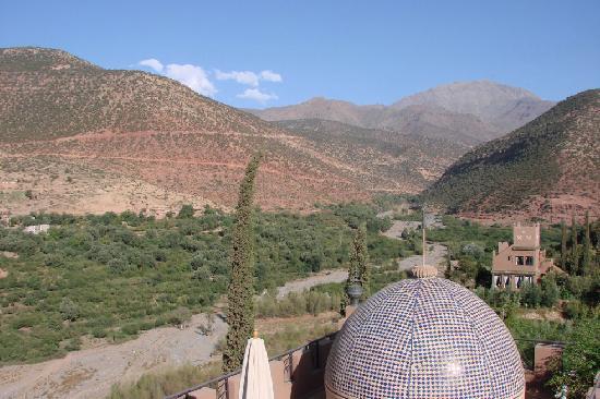 Kasbah Tamadot : Terrace view room 33