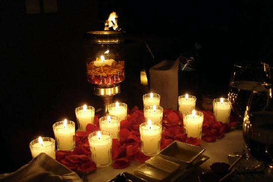 Kasbah Tamadot : Romantic dinner