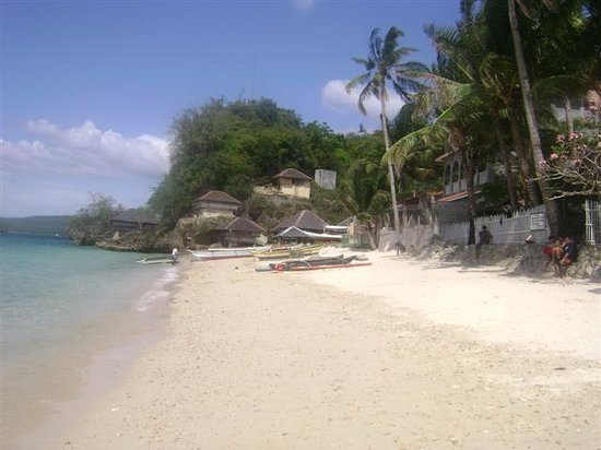 Guimaras Island, Filippinene: white sand beach