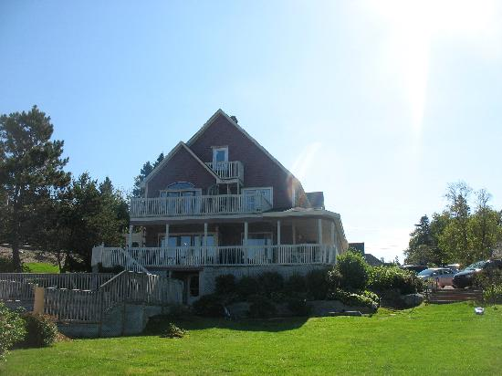 Rosewood on the Cove: View of the Large Double Cottage (Gorgeous House)