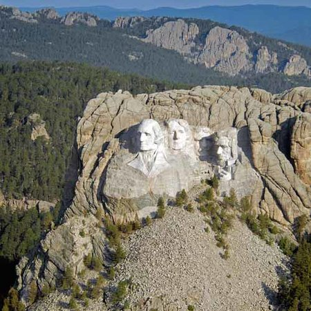 Dakota del Sud: Mount Rushmore National Memorial - South Dakota