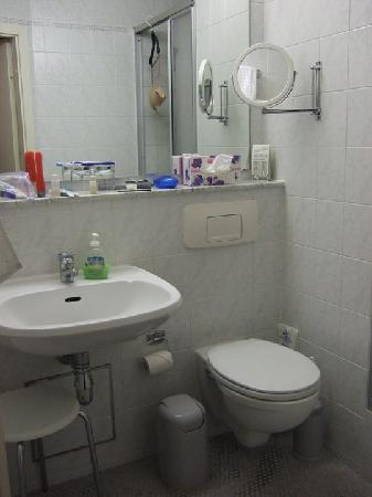 Hotel Hansablick Garni: Bathroom at the Hansablick