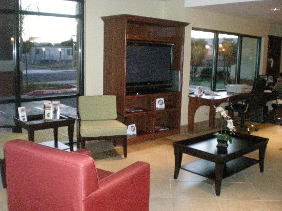 Vacaville, Californie : lobby area.