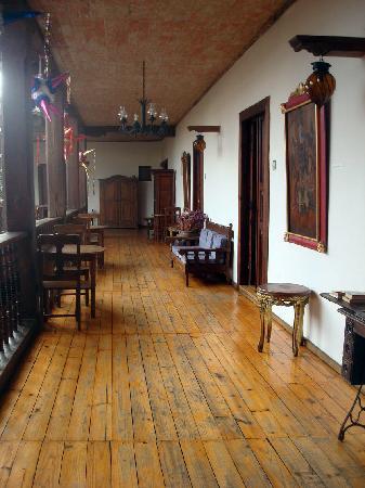 Hotel Posada San Cristobal: Pasillo en la parte alta