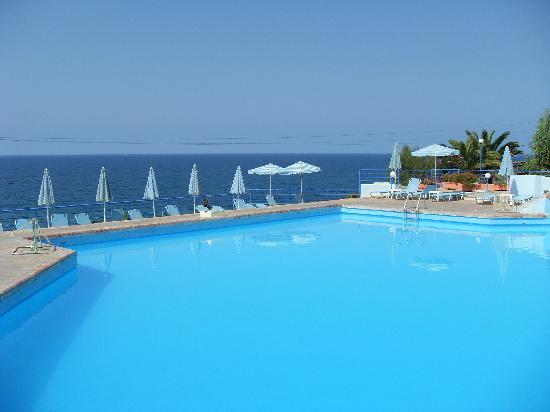 Skaleta, Grecia: Vue de l'hotel