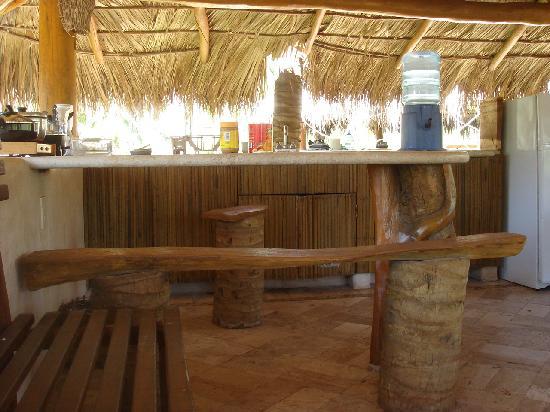 Villas del Palmar : upper unit kitchen