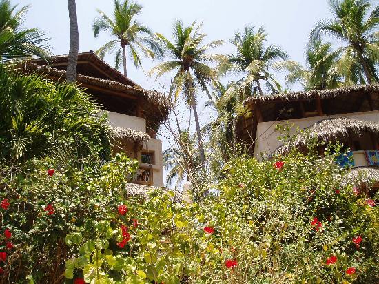 Villas del Palmar : view of villas from pool