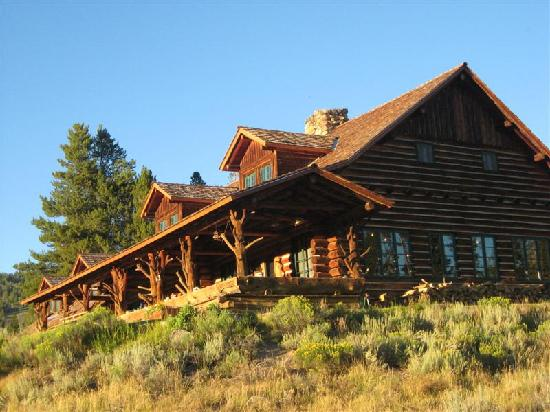 The view picture of idaho rocky mountain ranch stanley for Rocky mountain lodges