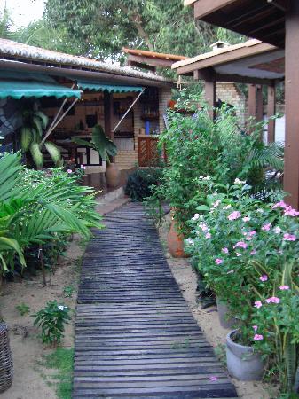 Senzala dos Amigos: garden