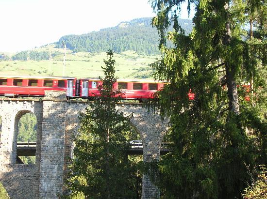 Tiefencastel, Zwitserland: Zug