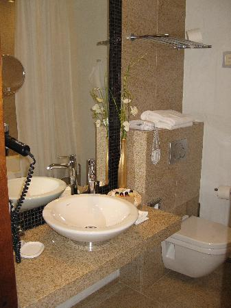 Savoy Boutique Hotel: bathroom (with leaky shower!!)