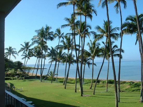 Hale Kai O'kihei: view from our Lanai