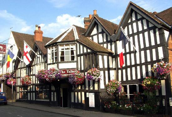 Talbot Hotel: The Talbot 3 Star Coaching Inn c1596